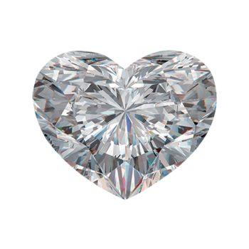 Ezüst női gyűrű fehér, kék köves szívvel