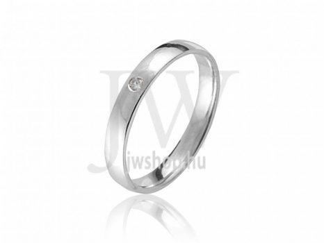 Ezüst Karikagyűrű P4