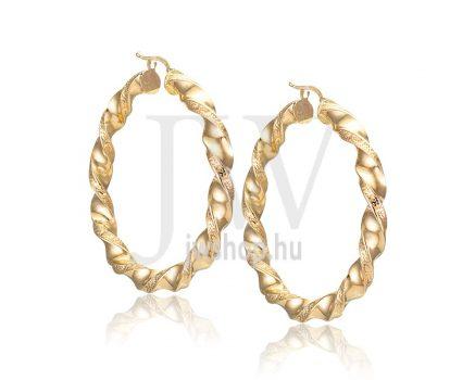 Arany karika fülbevaló - 248