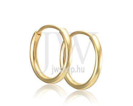 Arany karika fülbevaló - 250