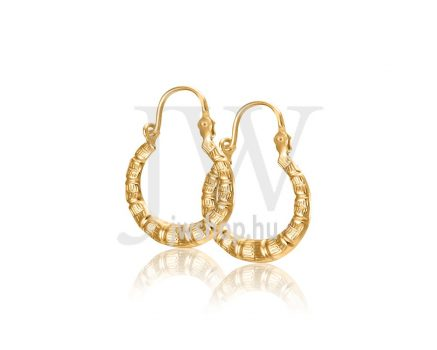 Arany karika fülbevaló - 255