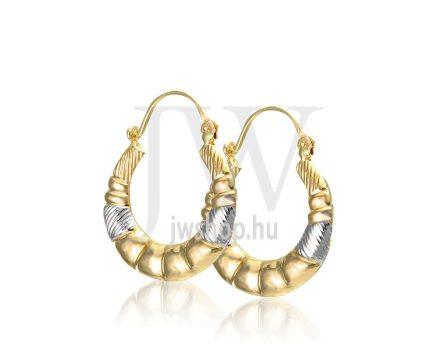 Arany karika fülbevaló - 258