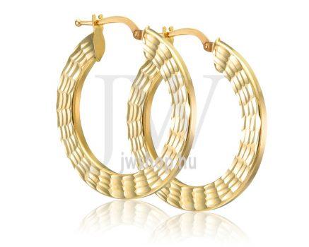 Arany karika fülbevaló - 265
