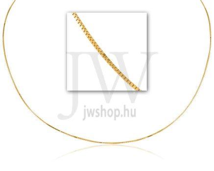 Sárga arany gyermek nyaklánc - 1