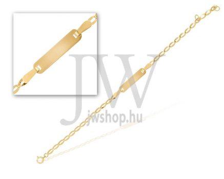 Sárga arany  gyermek karkötő - 3