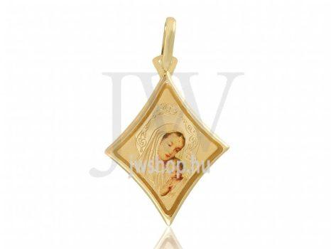 Sárga arany, Szűz Mária Medál - 23