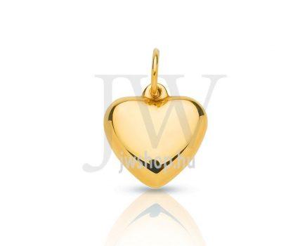 Pici, arany szívmedál - 153