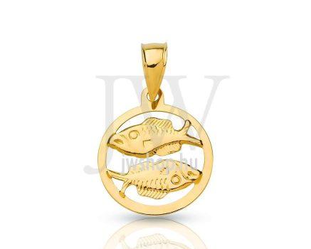 Arany horoszkóp medál - 155