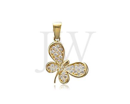 Arany, pillangó medál - 201