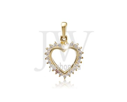 Arany, szív medál - 207