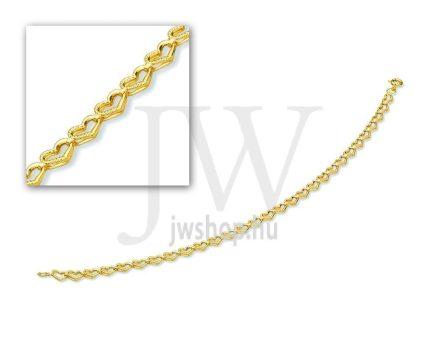 Arany karkötő - 12 L 004