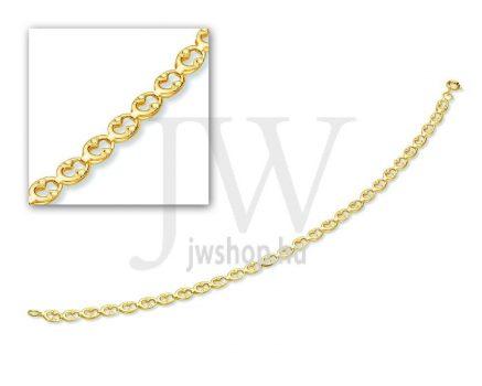 Arany karkötő - 16 L 011