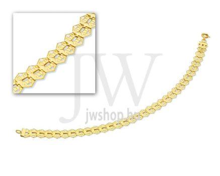 Arany karkötő - 26 L 037