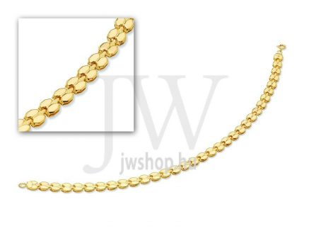 Arany karkötő - 43 L 080