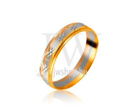 Arany karikagyűrű P1005