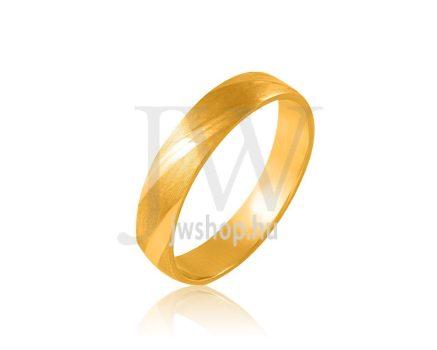Arany karikagyűrű P101