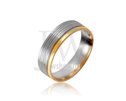 Arany karikagyűrű P1034
