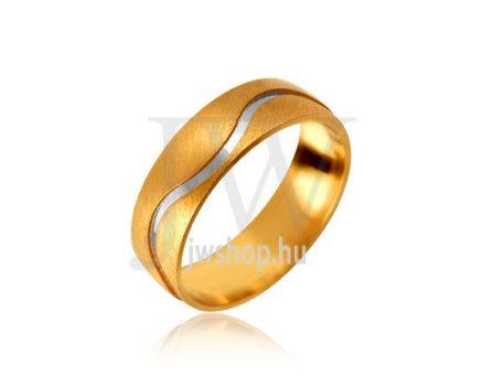 Arany karikagyűrű P1037