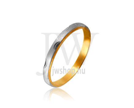 Arany karikagyűrű P1045