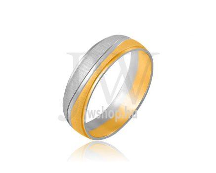 Arany karikagyűrű P1047