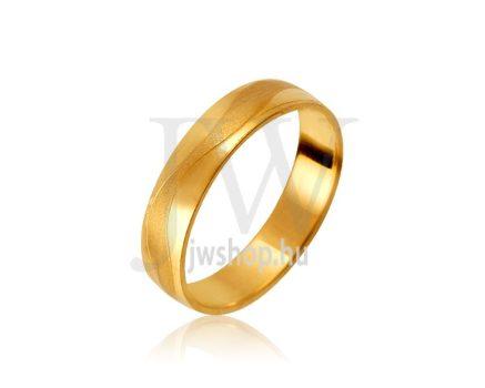 Arany karikagyűrű P1063