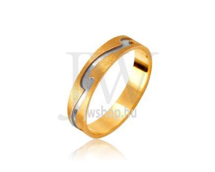 Arany karikagyűrű P1066