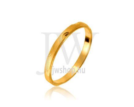 Arany karikagyűrű P1067