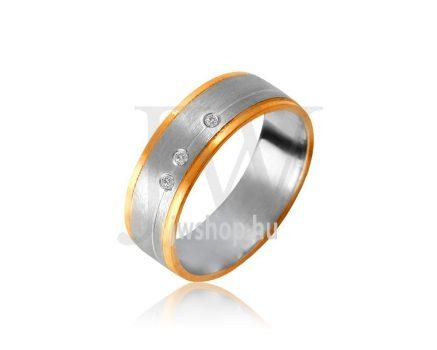 Arany karikagyűrű P1075K