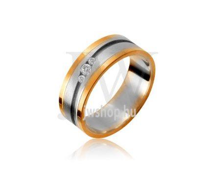 Arany karikagyűrű P1076K