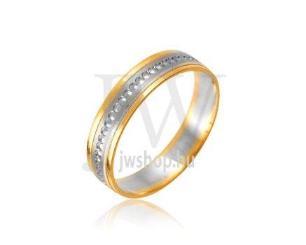 Arany karikagyűrű P1085