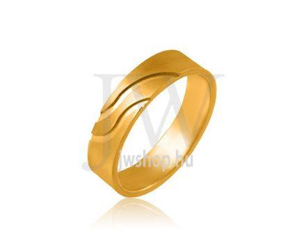 Arany karikagyűrű P1092