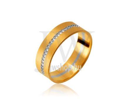 Arany karikagyűrű P1096