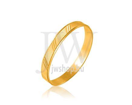 Arany karikagyűrű P111