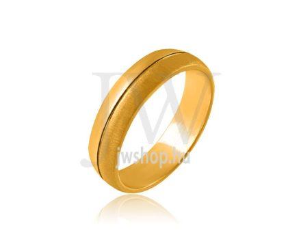 Arany karikagyűrű P1111