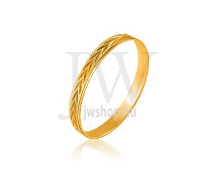 Arany karikagyűrű P113