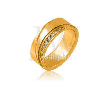 Arany karikagyűrű P1162K