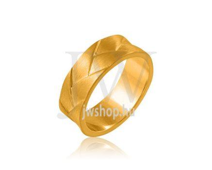 Arany karikagyűrű P1189