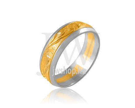 Arany karikagyűrű P196BAROKK