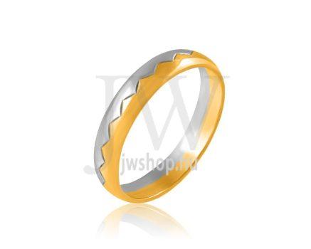 Arany karikagyűrű P206