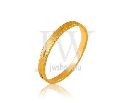 Arany karikagyűrű P233