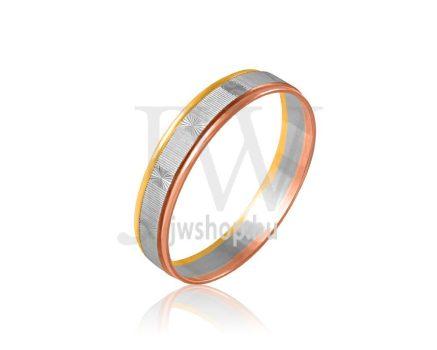 Arany karikagyűrű P296