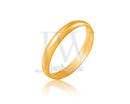 Arany karikagyűrű P3,5FD