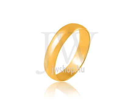 Arany karikagyűrű P4,5FD