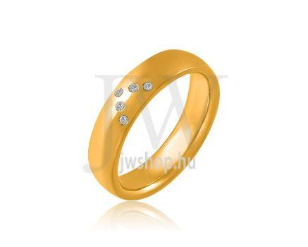 Arany karikagyűrű P4021K