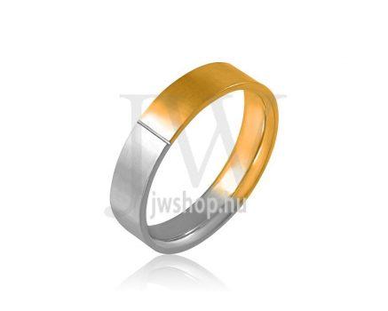 Arany karikagyűrű P4059