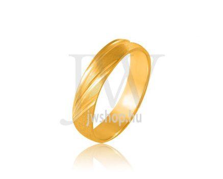 Arany karikagyűrű P44