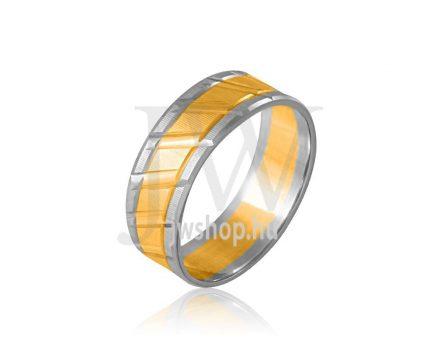 Arany karikagyűrű P458