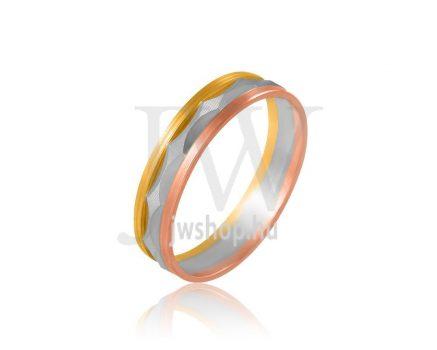 Arany karikagyűrű P516