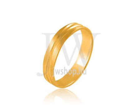 Arany karikagyűrű P562