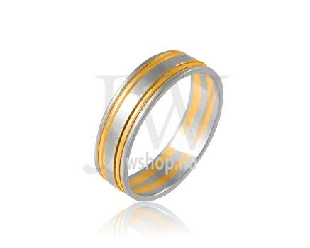 Arany karikagyűrű P632